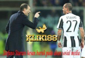 Stefano Sturaro kesan buruk pada akun sosial media