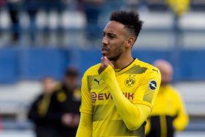 Aubameyang Mendapat Sanksi Dari Borussia Dortmund