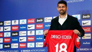 Diego Costa Sudah Kembali Untuk Memperkuat Atletico