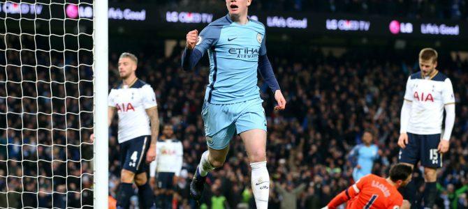 Manchester City Lumatkan Tottenham Hotspur Skor 3-1
