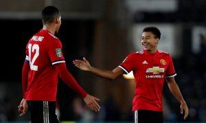 Manchester United Berhasil Memimpin 1 Gol Atas Arsenal