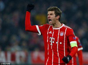 Manchester United Ditolak Mentah Sama Thomas Muller